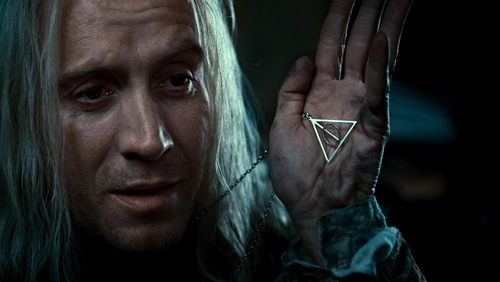 "RHYS IFANS as Xenophilius Lovegood in Warner Bros. Pictures' fantasy adventure ""HARRY POTTER AND THE DEATHLY HALLOWS – PART 1,"" a Warner Bros. Pictures release."